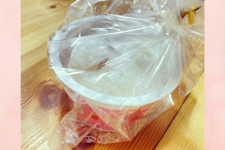 手作り苺大福